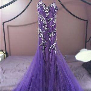 Beaded Designer Prom Dress